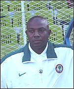 Stephen Keshi of Nigeria